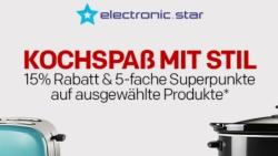 """15% Gutschein & 5-fache Superpunkte auf Elektronik-Deals des Händlers """"Electronic Star"""" bei Rakuten"""