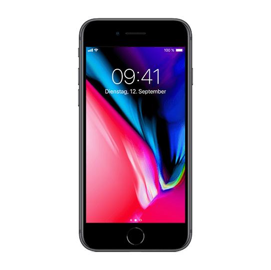 Als GiGa Kombi: Vodafone Red M Basic mit Allnet-Flat und 14GB Daten für mtl. 17,49 Euro (Monat 1-6, danach 44,99 Euro) + iPhone 8 für nur einmalig 4,99 Euro