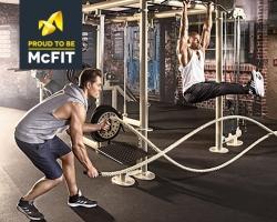 Bis Mitternacht rabattiert: 12 Monate McFit Mitgliedschaft für 169,- Euro oder alternativ 24 Monate für 279,- Euro!