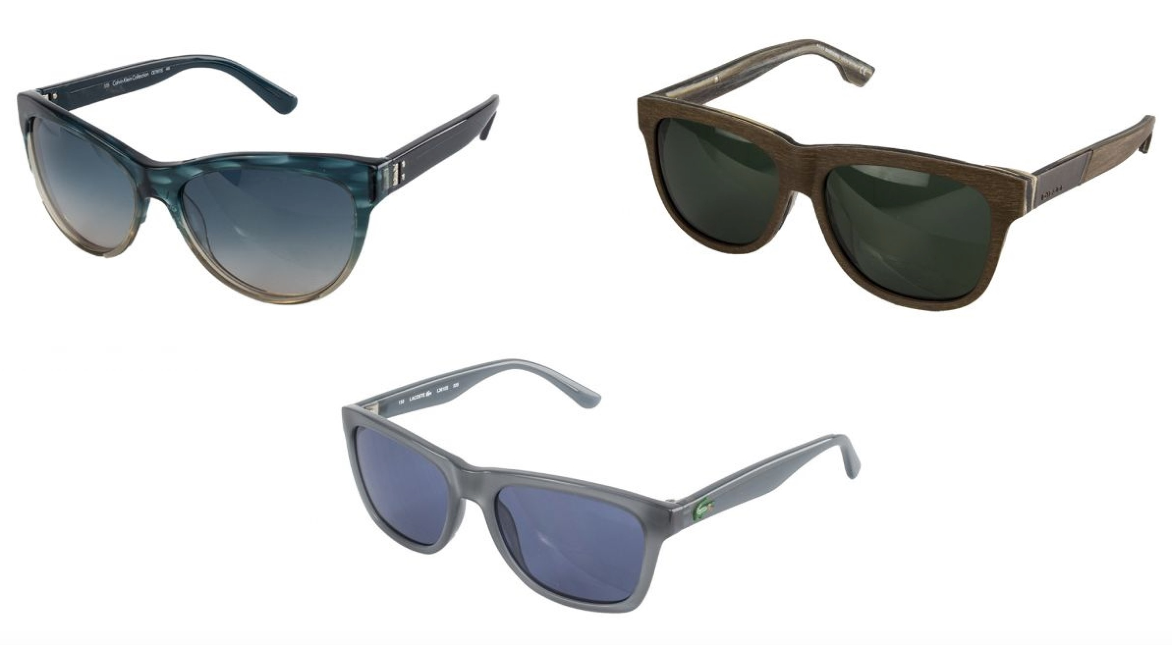 Viele verschiedene Marken-Sonnenbrillen