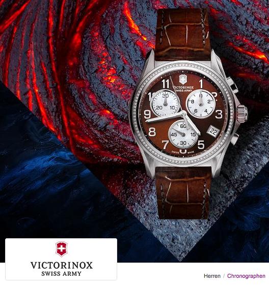Sale Aktionen mit Uhren von Victorinox bei Vente Privee