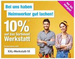 Nur 2 Tage lang: 10% Rabatt auf die Kategorie Werkstatt bei GartenXXL