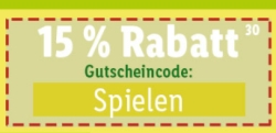 Nur heute: 15% Gutscheincode auf Gartenspielzeug im Lidl Onlineshop!
