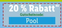 Nur heute 20% Rabatt auf Pools im Lidl-Shop
