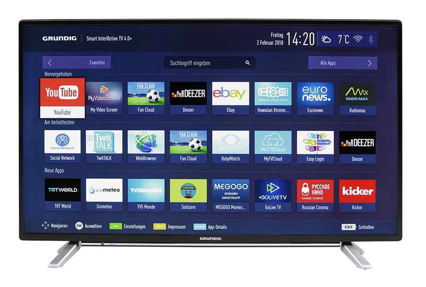 Grundig 32 GFB 6728 32 Zoll Full HD LED Smart TV für nur 259,- Euro inkl. Lieferung