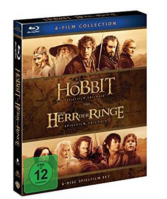 Der Hobbit und Der Herr Der Ringe: Mittelerde Collection [Blu-ray] nur 16,97 Euro