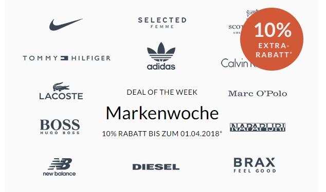 Engelhorn Mode Markenwoche: 10% Rabatt auf Marken wie Adidas