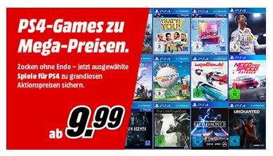 MediaMarkt PS4-Aktion