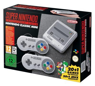 Tipp: Nintendo Classic Mini SNES Konsole mit 21 Spielen für nur 60,89 Euro inkl. Versand (statt 78,- Euro)
