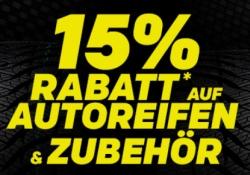 Endet heute: 15% Gutscheincode auf Reifen und Zubehör bei Rakuten