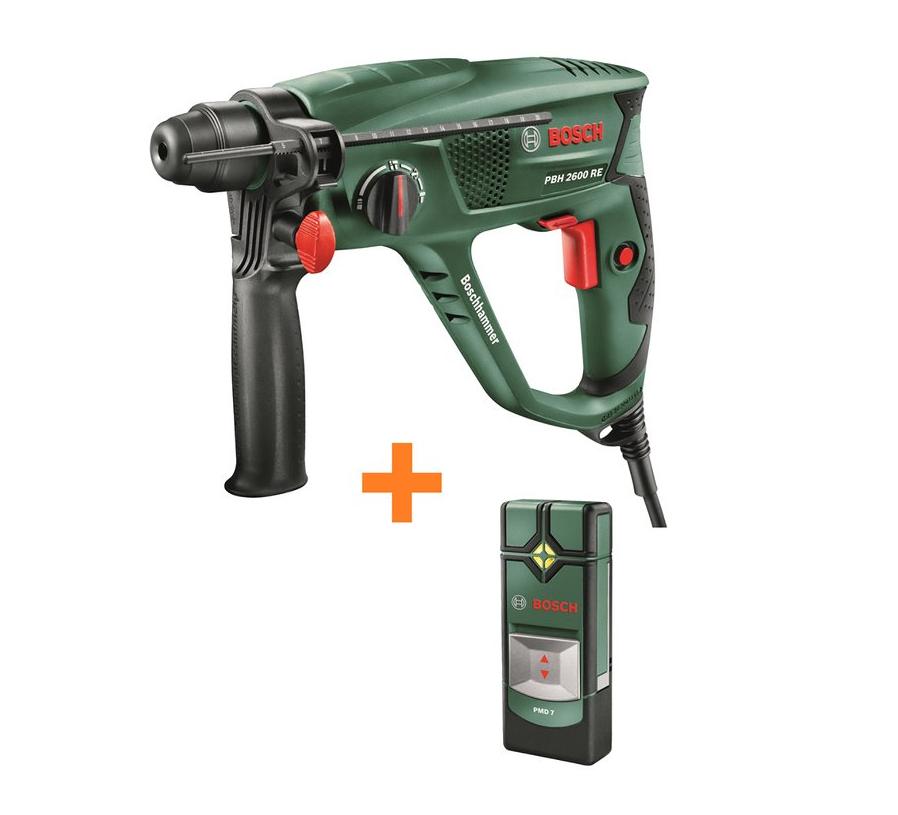 Bosch Bohrhammer PBH 2600 RE inkl. Ortungsgerät PMD 7 für nur 79,99 Euro inkl. Versand