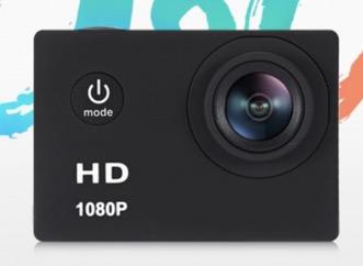 F80 1080P HD Actioncam mit wasserdichtem Gehäuse nur noch 13,64 Euro