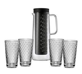 WMF Cold Brew Kanne mit 4 Honeycomb Gläser nur 29,95 Euro inkl. Versand (Vergleich 60,-)