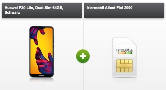 Klarmobil Allnet Flat mit 2GB im Telekom-Netz monatlich 19,99 Euro + Smartphone gegen kleine Zuzahlung