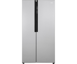 Side By Side Kühlschrank Deals : Haier hrf ds amerikanischer side by side kühlschrank mit l
