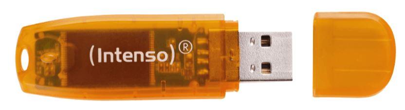 INTENSO Rainbow Line (64GB) USB-Stick für nur 5,- Euro