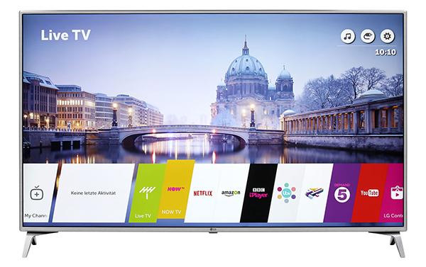 LG 43UJ6519 43 Zoll 4K/UHD-Smart TV für 379,- Euro inkl. Versandkosten