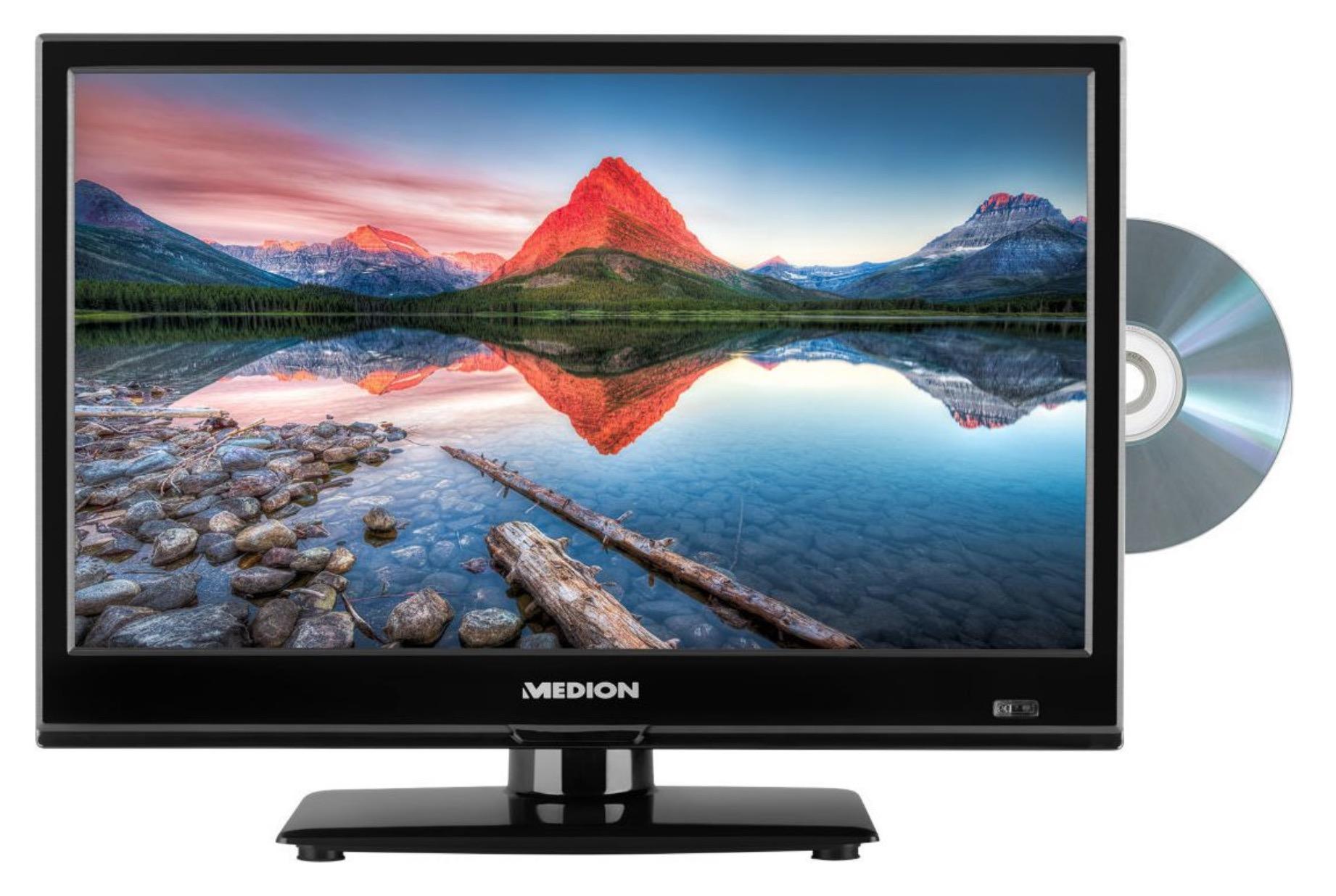 MEDION LIFE P12308 TV (integrierter DVD-Player, HD Triple Tuner, CI+) für nur 79,95 Euro