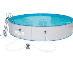 Bestway Stahlwand Pool-Set 460 cm x 90 cm für nur 299,99 Euro bei OBI