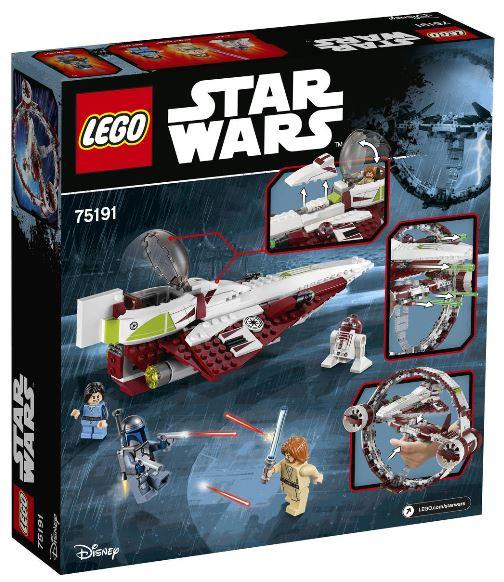 LEGO Star Wars Jedi Star Fighter 75191 für nur 80,99 Euro inkl. Versand