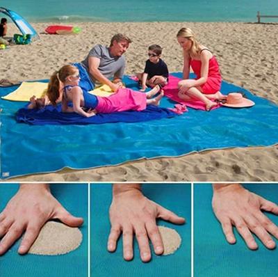 Wieder da! Das Anti-Sand-Strandtuch (200 x 200cm) nur 9,88 Euro inkl. Versand