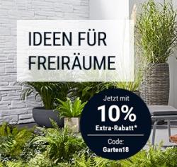 10% Gutscheincode auf die Kategorie Garten bei Tchibo