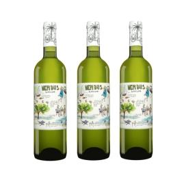 Vinos.de Tagesangebot: 7 Flaschen Nembus Blanco 2016 für nur 27,65 Euro inkl. Versand