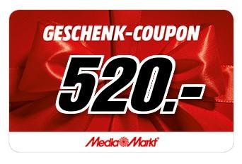 Allnet-Flat im Telekom-Netz mit 2GB Daten für 31,99 Euro – dazu 520,- Euro MediaMarkt-Gutschein