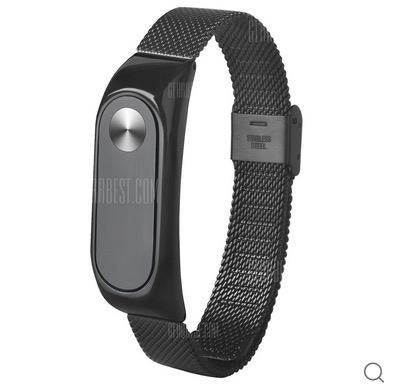 Stahl-Armband für das Xiaomi Mi Band 2 in Schwarz nur 2,56 Euro inkl. Versand