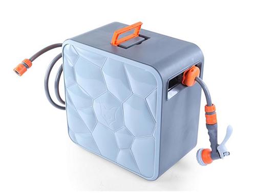 FUXTEC FX-CU20 Wasserschlauchaufroller Cube mit 20m Schlauch für nur 64,99 Euro