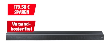 Megaknaller! Gerade Soundbar SAMSUNG HW-MS650 in Schwarz nur 179,50 Euro inkl. Versand