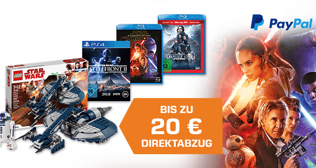 LEGO May the 4th 2018 Event bei Saturn – bis zu 20,- Euro Rabatt bei Paypal