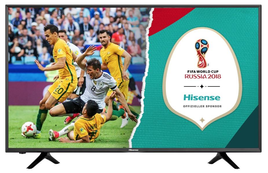 Hisense 50″ 4K Ultra HD LED Smart-Fernseher für nur 379,- Euro inkl. Lieferung