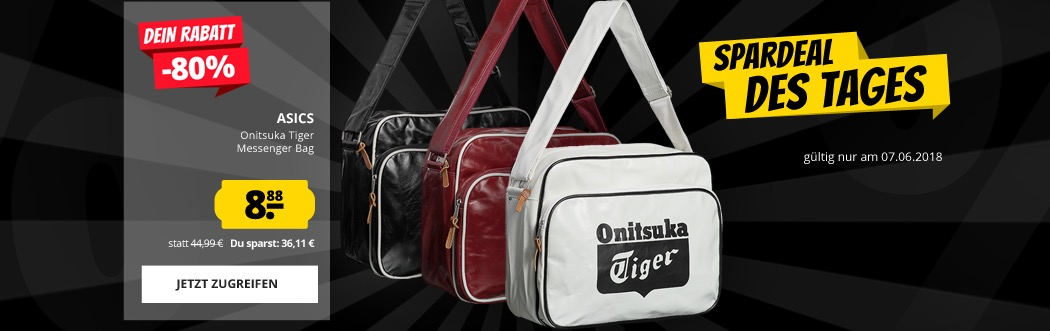 Asics Onitsuka Tiger Messenger Bag Umhängetasche für nur 8,88 Euro ...