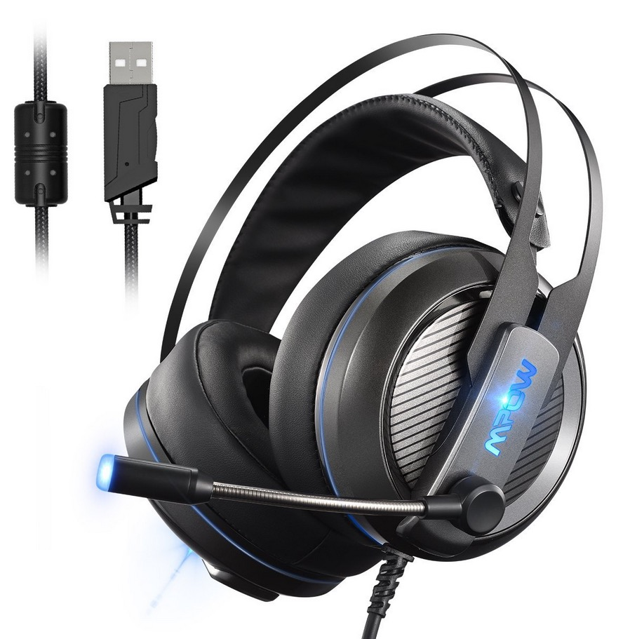 Mpow Gaming-Headset mit Virtual 7.1 Surround-Sound und Mikrofon nur 24,95 Euro