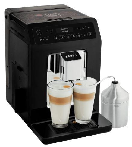 KRUPS EA8918 Evidence Kaffeevollautomat (Edelstahl-Kegelmahlwerk, 2,1L Tank) für nur 399,- Euro inkl. Versand