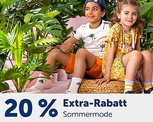 Letzter Tag! 20% Rabatt auf Sommermode (über 13.000 Produkte) bei MyToys