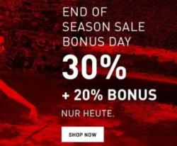 Nur heute: 20% Extrarabatt auf bereits reduzierte Artikel im Puma Sale