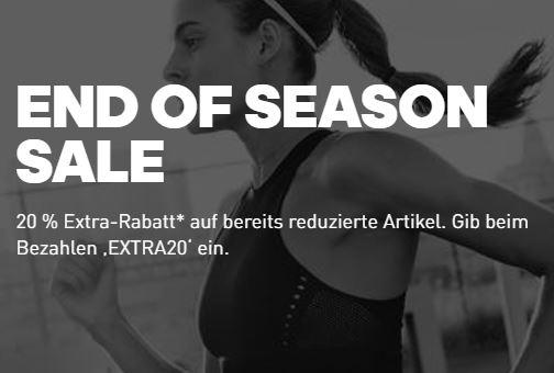 Super! 20% Rabatt auf bereits reduzierte Artikel im Adidas Sale