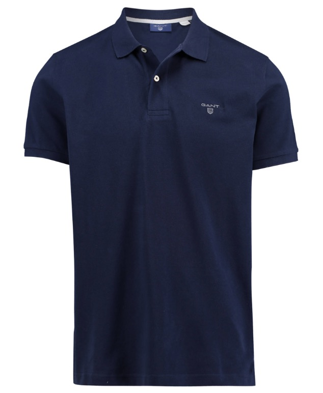 Poloshirts von Gant in vielen Farben und Rest-Größen nur 35,91 Euro (Vergleich 50,-)