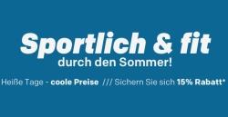 15% Rabatt auf Outdoorsports bei Rakuten.de