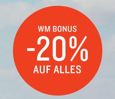 Tom Tailor WM Special Sale mit 20% Extra-Rabatt auf alle Artikel – auch auf Sale!