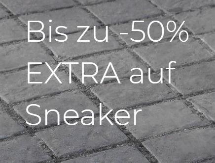 Bis zu 50% Extra-Rabatt auf Sneaker bei About You