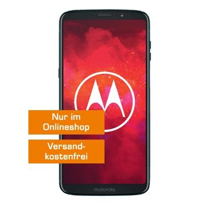 Knaller! Allnet-Flat mit 4GB LTE nur 14,99 Euro + Motorola Moto Z3 Play (Wert 499,- Euro) nur 69,- Euro einmalig.