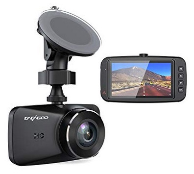 Cacagoo DashCam fürs Auto mit FullHD 1080P und 150 Grad Weitwinkel für nur 23,99 Euro