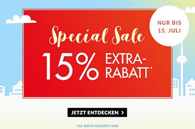 Engelhorn Special Sale mit Rabatten von bis zu 70% auf Markenkleidung + 15% Extra-Rabatt
