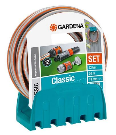 Gardena 18005-50 Wandschlauchhalter + 20 m Schlauch für nur 20,- Euro inkl. Versand