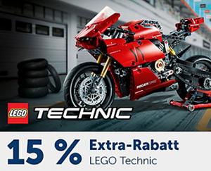 15% Rabatt auf Lego Technic Artikel im myToys Onlineshop