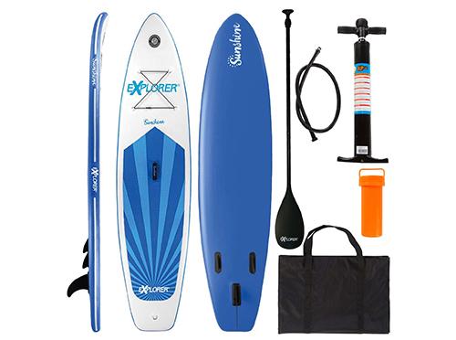 Top! Explorer Stand Up Paddle Set SUNSHINE (305 x 81 x 12 cm) für nur 333,95 Euro (statt 456,- Euro)