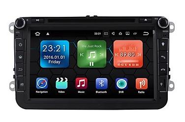 Doppeldin-Autoradio mit Android 7.1, GPS und 8″ Touchscreen für 220,39 Euro